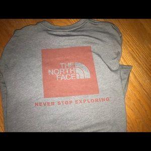 Men's medium North face short sleeve